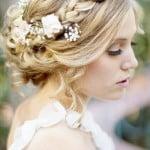 düğün için örgü saç modelleri 6